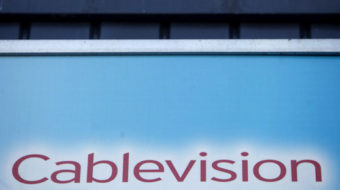 "Workers at Brooklyn Cablevision demand: ""Bring 'em back!"""