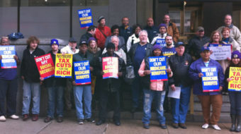 Nationwide rallies against austerity