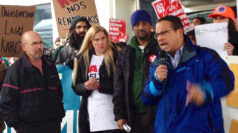 Support builds for Delta baggage handler fired for speaking out