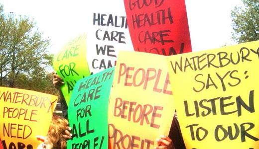 Community United demands answers on hospital merger