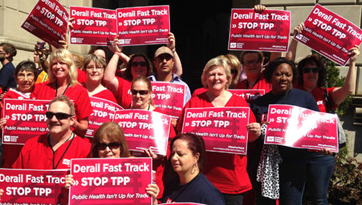 Labor, allies push to derail Fast Track for good