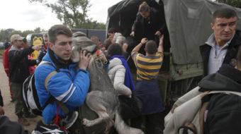 Catastrophic destruction from floods in Balkans, landmines swept away