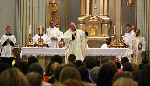 N.Y. archbishop fights child abuse legislation