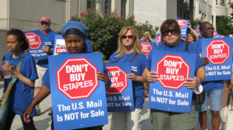 Letter carriers: U.S. mail not for sale!