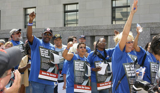 With future at stake, postal workers fighting for everyone