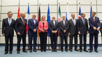 Five top union leaders endorse Iran nuclear arms control pact