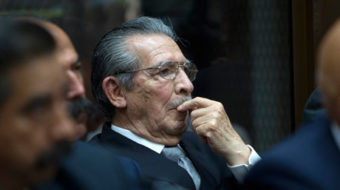 Reagan and CIA belong in the dock with former Guatemalan dictator