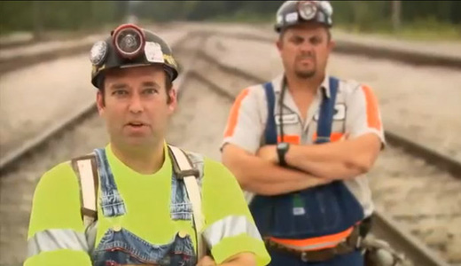 Union official scores Republican ad featuring fake coal miner