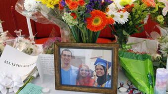 Memorial for 3 Muslim students calls for end to hate, ignorance