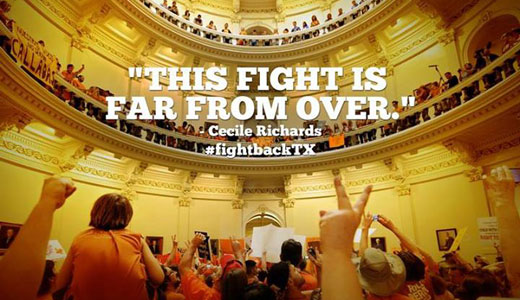 Republicans win a round on Texas anti-abortion law