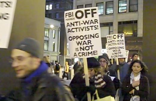 Protests continue over FBI raids, new subpoenas of peace activists