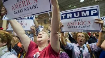 Trump offers workers scapegoats, not wages