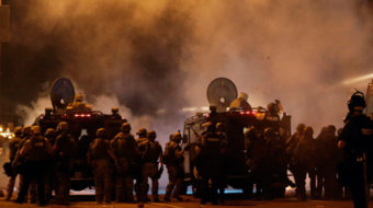 Police settle lawsuit on use of chemical agents in Ferguson