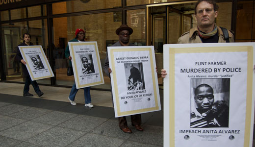 """Outrage follows declaration that police killing was """"justified"""""""