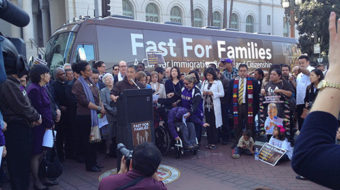Fasters for families: Boehner, stop playing with our lives!