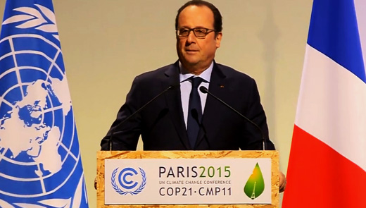 """""""Paris, a beacon of hope"""": Words of solidarity as COP 21 opens"""