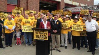 Trumka urges white working-class men to back Warren in Mass.