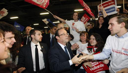 Left wins first round in French legislative vote