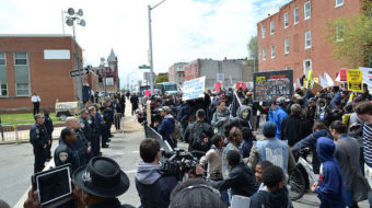 Freddie Gray, burning Baltimore and constitutional rights