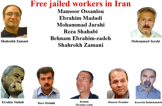 Campaign intensifies to free Iranian trade unionists
