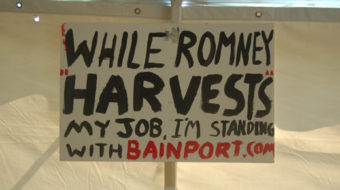 "Romney crowd calls outsourced Sensata workers ""communists"""