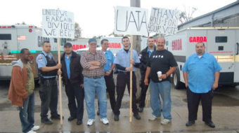 Armored vehicle operators form union, demand respect