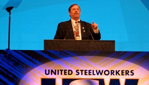 "Steelworkers ""stand up, fight back"" (with video)"