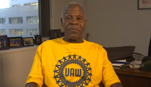 Danny Glover speaks out for Nissan workers in Mississippi