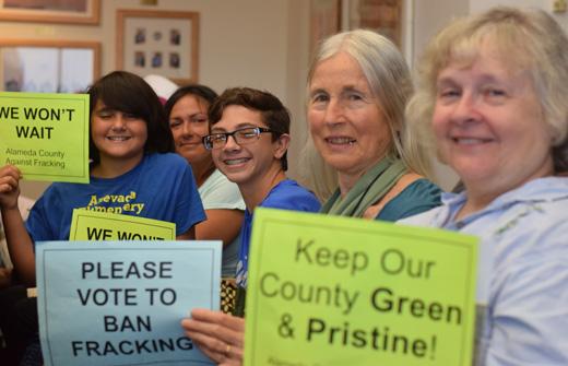 Alameda County bans fracking