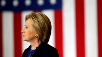 Clinton takes the long view: Republican victory would threaten democracy itself