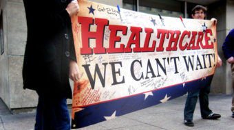 100,000 demand Clarence Thomas stay out of health care hearing