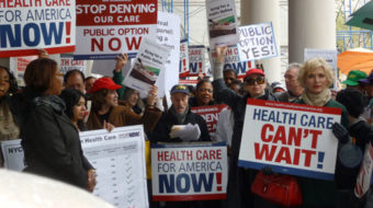Grassroots activist pledges ongoing fight for health reform