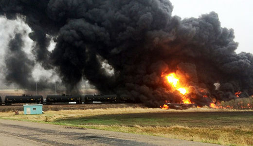 """""""No more bomb trains"""": environmental groups sue over weak regulations"""