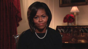 First Lady urges women to talk to friends about health care