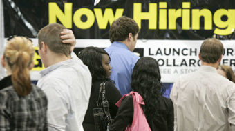 Unemployment crisis continues to grow