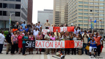 Victory for workers at Baltimore Sheraton
