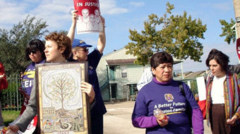 Justice bus rolls to stop wage theft