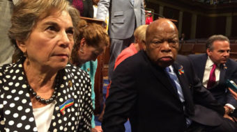 The House sit-in wasn't dumb or great, it was a beginning