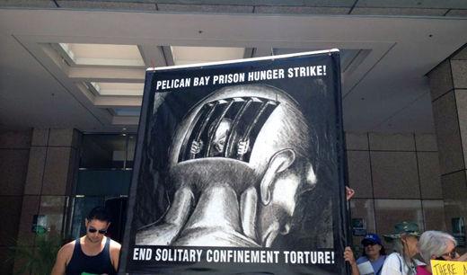 California prisoners begin hunger strike