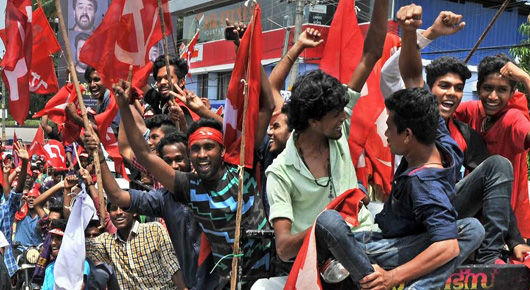 """""""Red Spring"""" for the left in India's Kerala state"""
