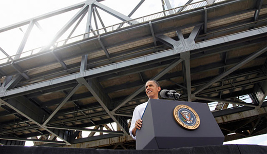 Obama urges Congress to act on job-creating infrastructure bill