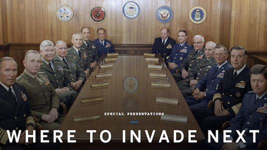 "Michael Moore's latest: ""Where to Invade Next"""