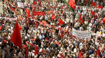 Baghdad's May Day march draws thousands