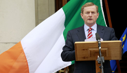 Irish voters hold their noses, OK forced austerity