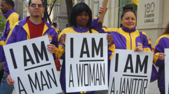 Janitors strike in Houston spreads to eight cities