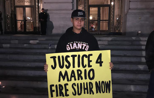 San Francisco residents demand police chief's resignation over Mario Woods shooting