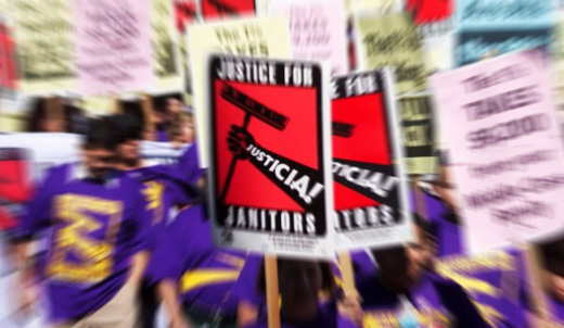 Janitors and farm workers: Two strikes remembered