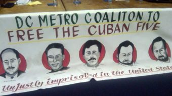 Support for Cuban Five in U.S. capital