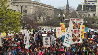 On May Day in Wisconsin, thousands call for immigrants' rights, Menards boycott
