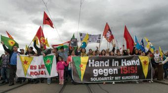 Iranian Communists back Kurds resisting ISIS